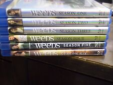 .(6) Weeds Season Blu-Ray Disc Lot: Weeds 1, 2, 3, 4, 5 & 6    (1) Brand NEW