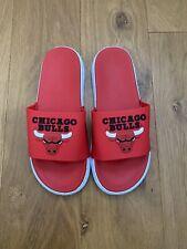 CHICAGO BULLS NBA BIG LOGO BADELATSCHEN/SANDALEN/FLIP FLOPS GR.41-42 (US 9) NEU-
