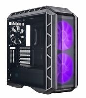 Cooler Master MasterCase H500P ATX Tower RGB LED Tempered Glass Gaming PC Case