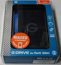 G-Technology 1TB G-DRIVE ev RaW SSD Portable External Storage