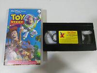 TOY STORY JUGUETES VHS CINTA TAPE WALT DISNEY ESPAÑA COLECCIONISTA
