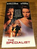 The Specialist VHS VCR Video Tape Movie Used Sharon Stone, Sylvester Stallone