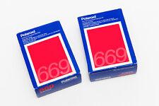 2 Sealed Boxes of Polaroid Type 669 FIlm- Expired
