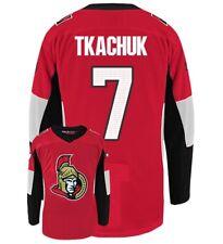 HOCKEY JERSEY Ottawa Senators Tkachuk Alfredson Gonchar Karlsson Ryan