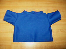 """15-17"""" CPK Cabbage Patch Kids BLUE DOUBLE KNIT TEE SHIRT"""