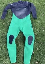 Men's 4/3mm X2 TDC Revolt Quick Dry Fullsuit Size:Large Short