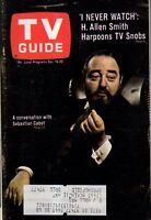 1967 TV Guide December 16 - Sebastian Cabot; Alexandra moltke - Dark Shadows;