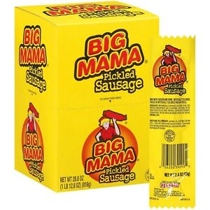 Big Mama Pickled Sausage (12 ct.) 2.4 Ounce (Pack of 12)