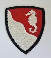 WWII US Army 36TH Combat Engineer Brigade Shoulder Patch Black Border WW2 Vtg