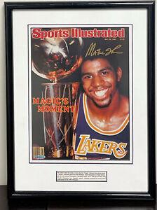 Magic Johnson Signed 1980 Sports Illustrated Magazine Upper Deck UDA