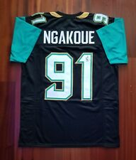 Yannick Ngakoue Autographed Signed Jersey Jacksonville Jaguars JSA