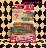 Shopkins Cutie Cars Traveling Taco 09 Die Cast Mini Car New Food