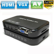 Full 1080P HD Multi TV Media Player USB HDMI SD/MMC RMVB MKV RM MKV MOV AVI DIVX