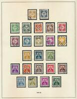 BOHEMIA & MORAVIA STAMPS • WWII CECHY & MORAVIA • 2 COMPLETE? SETS • 24 Issues