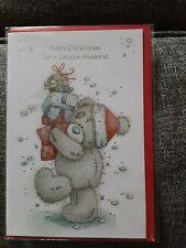 Tatty teddy me to you bear Husband Christmas Card BNIP - presents