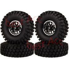 1/10 112mm Tire1065-7038 FOR RC Rock Crawler 1.9Inch Aluminum Beadlock Wheel Rim