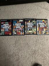 PS2 GTA Grand Theft Auto lot bundle GTA 3 Vice City San Andreas Liberty All CIB