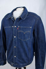 P888/61 Levi's Navy Blue Cotton / Lyocell Engineered Jeans Jacket, size L