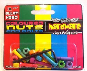 Coloured Skateboard Hardware RRP £6. Brand New!