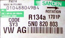 Klimakompressor  SY3 5N0 820 803 1707P   VW Audi Seat 010488049B4