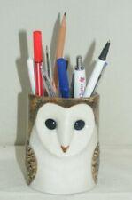 Quail Ceramics Barn Owl Pencil Pot 951