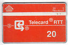 EUROPE TELECARTE / PHONECARD .. BELGIQUE 20U L&G RARE 241C NOTCHED
