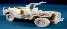 Milicast BB070ATG 1/76 Resin WWII British Airborne Jeep Towing 6pdr Anti-Tank