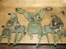 Woodland Camouflage LBV Tactical Vest Rig Gen 2 Enhanced Version Grade 3 Fair