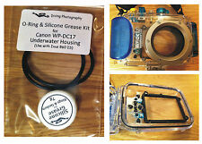 O-ring & Silicone Grease Kit for Canon WP-DC17 Diving Underwater Housing Case
