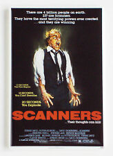 Scanners FRIDGE MAGNET (2 x 3 inches) movie poster