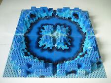 Lot de 4 Plaques imprimées Lego Aquazone ( set 6195 ) / 32x32