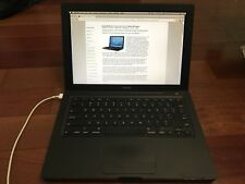 Apple MacBook 13-inch Late 2007 Core 2 Duo 2.2GHz 160GB 4GB Black MB063LL A1181