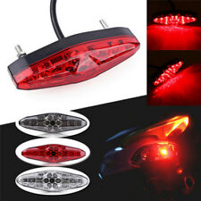 12V 15 LED Motorcycle Integrated Brake Turn Signals Tail Lights Rear Light ZX