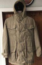 Vintage Woolrich Medium Size 40 Arctic Parka Goose Down Faux Fur Lined Coat
