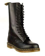 Scarpe da uomo stivali militari nero