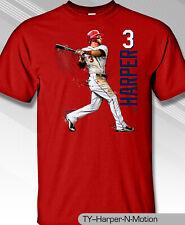 Bryce Harper Philadelphia's New Star In Motion T-shirt MLB1820