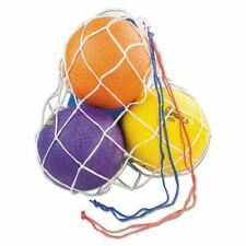 "Champion Bc10 Ball Bag, Holds 10 Basket Balls, 36"" x 24"", White/Red/Blue"