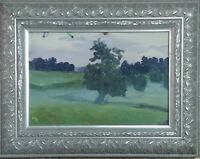 Antique Oil On Canvas Landscape Painting by Yuri Y.Pavlovich(Ukrainian 1872-1947