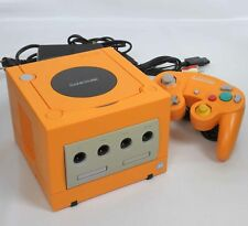 Game Cube ORANGE Console System DOL-001 JP For Japan Game CD DN12598659 Tested