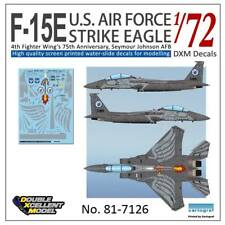 DXM decal 1/72 McDonnell Douglas F-15E Strike Eagle 4FW's 75th Anniversary