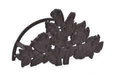 """Garden Hose Holder Hanger Reel Cast Iron Rose Bush Garden Decor 13.25"""""""