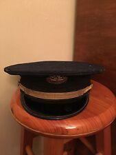 Vintage Virginia Tech ROTC Uniform Hat Navy Army Military