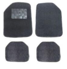 4tlg. Satz Velours Autoteppiche Schwarz Fußmatten Neu für Ford Fiat Honda Mazda