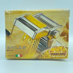 Marcato Atlas 150 Pasta Machine Manual Hand Crank NIB Never Used Made in Italy