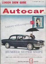Illustrated Autocar Transportation Magazines in English