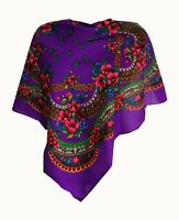 Stylish small Slavonic, Russian scarf, shawl folk style new Winter collection