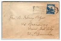 Germany 1935 Baden Baden Event Cover w/ SC# 461 - Z13873
