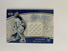 2005-06 Upper Deck Ice Frozen Fabrics #FFEB Ed Belfour - Toronto Maple Leafs