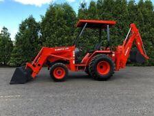 2003 Kubota L 35 Backhoe Loader Tractor Diesel 4x4 L35 Back Hoe
