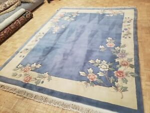 8x10 BRAND NEW CHINESE RUG AUBUSSON PEKING AUTHENTIC 100% WOOL ORIENTAL FINE